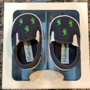 Ralph Lauren baby shoes size 3